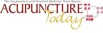 Acupuncture Today News Update