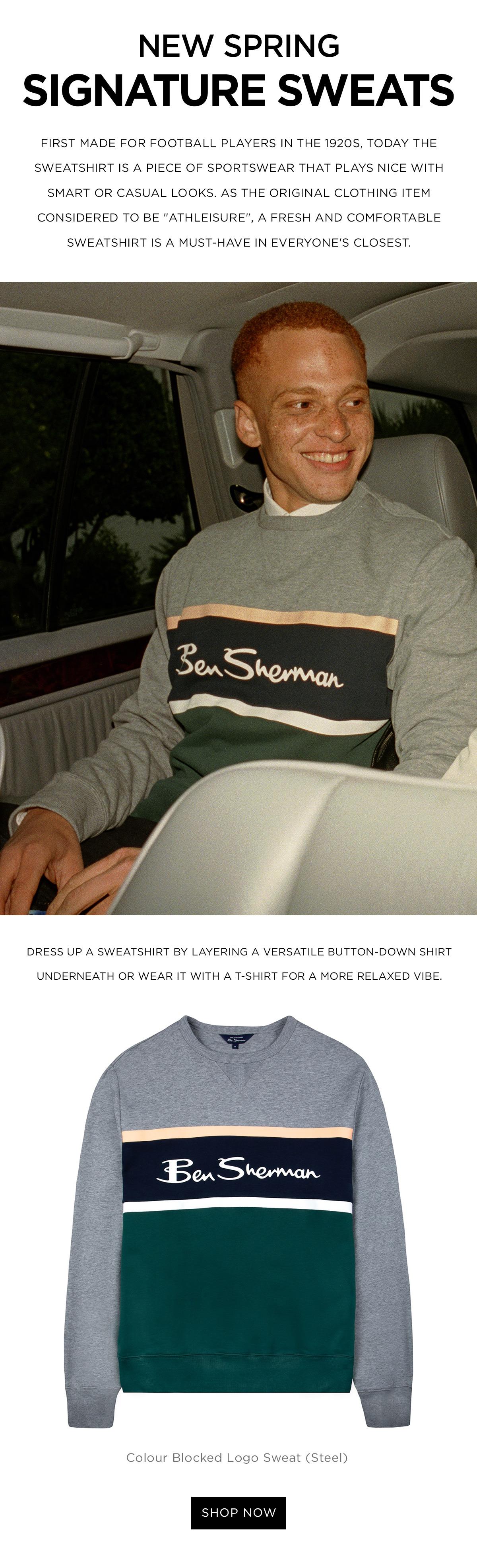 The sweatshirt - smart or casual looks
