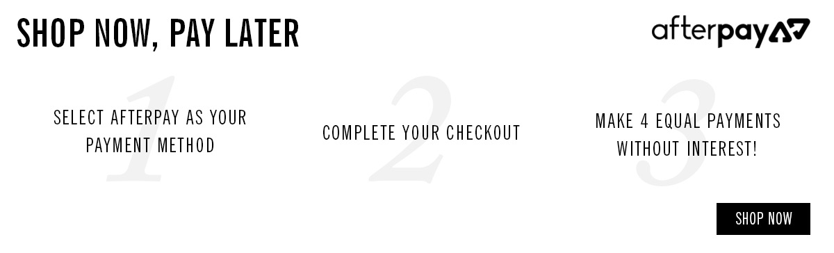 Shop Now, Pay Later   Afterpay