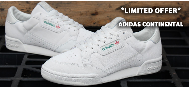 Adidas Continental Raw White