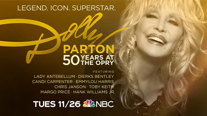 Dolly Parton NBC Special