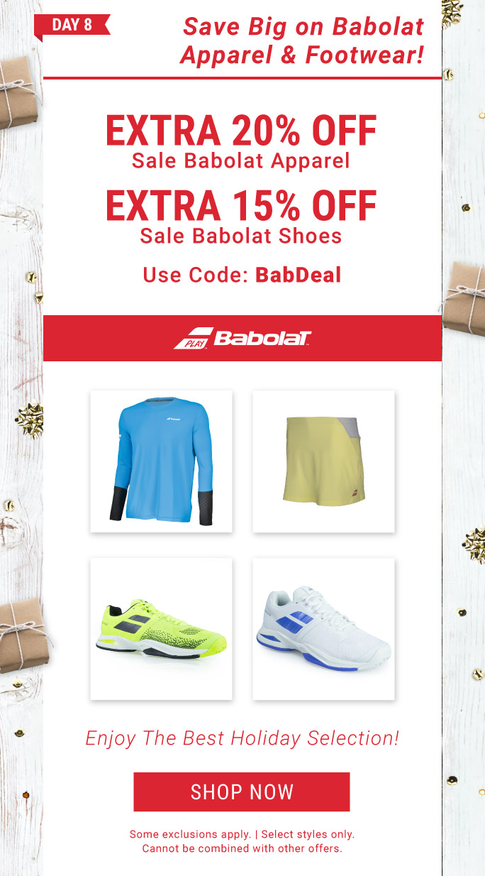 Shop the Babolat Deal of the Day