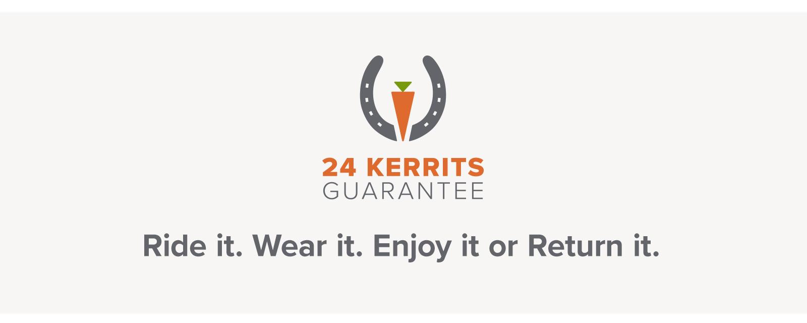 24 Kerrits Guarantee