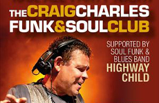 Craig Charles to perform at Rail Ale Festival 2020