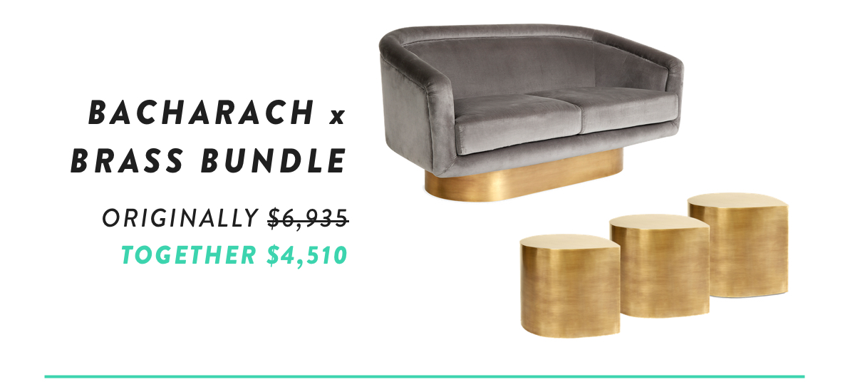 Bacharach x Brass Bundle | Shop Now