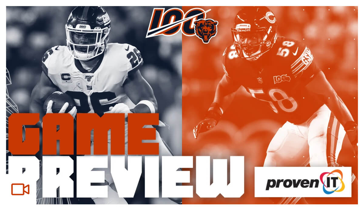 Game Preview | Bears vs. Giants