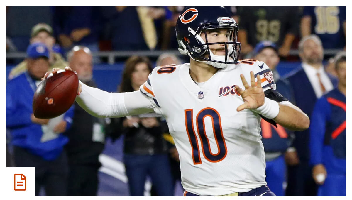 Trubisky day-to-day, practices in full