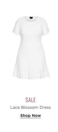 Lace Blossom Dress