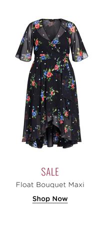 Float Bouquet Maxi Dress