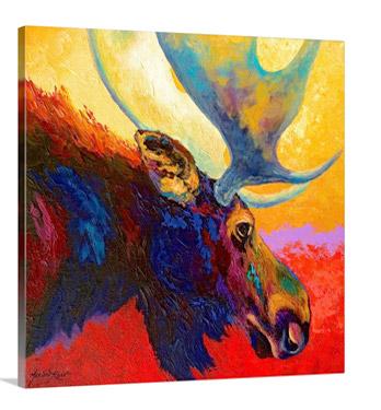 Alaska Spirit Moose by Marion Rose