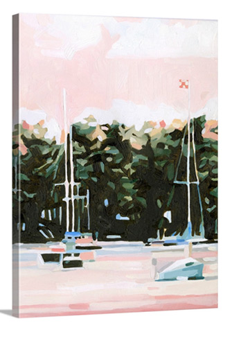 Lake Afternoon I by Emma Scarvey