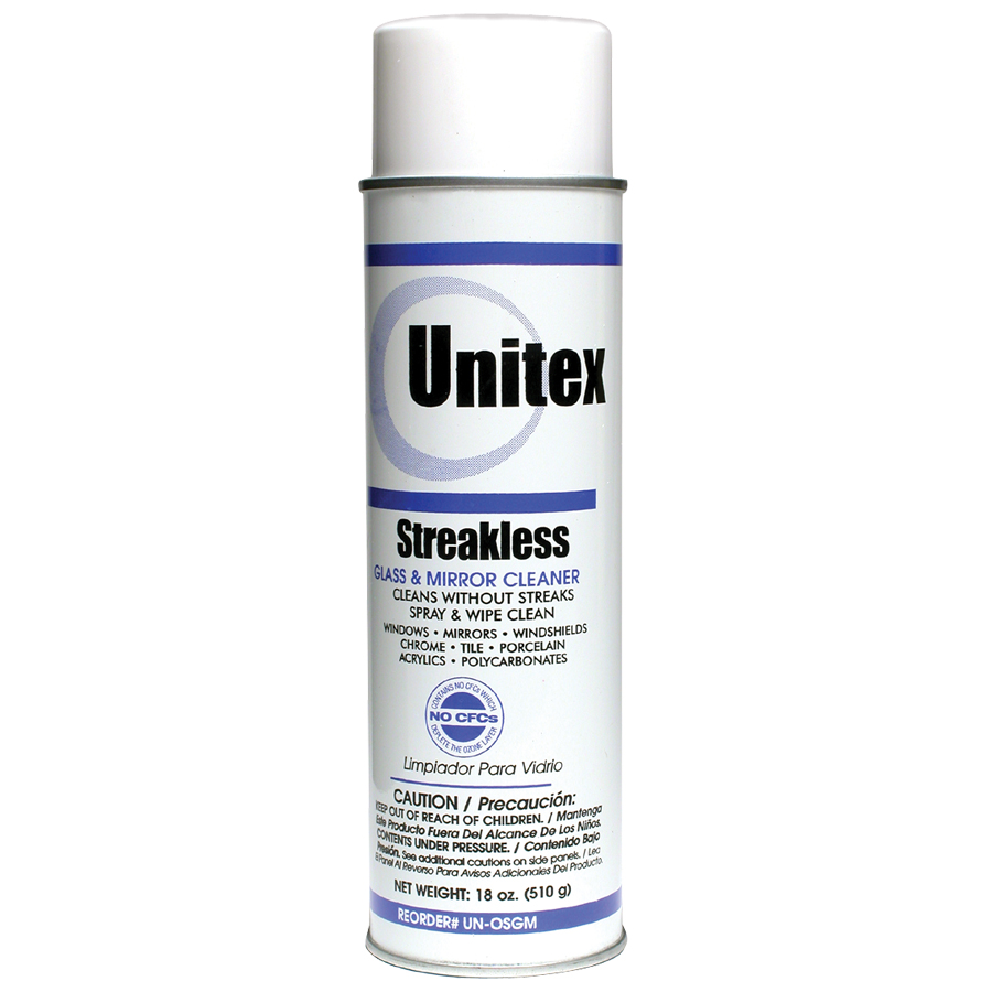 Unitex® Streakless Glass Cleaner
