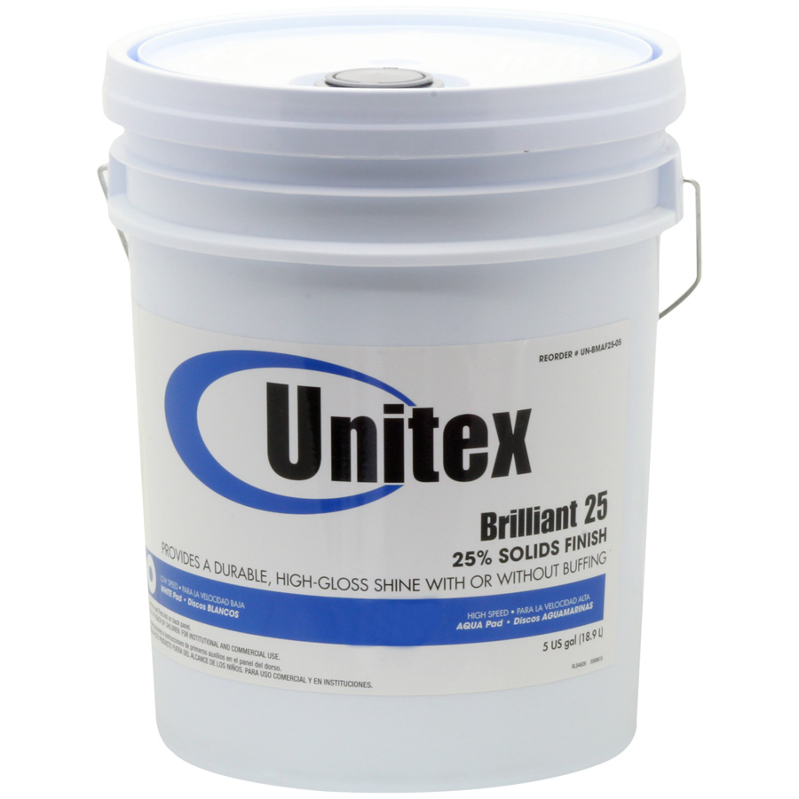 Unitex® Brilliant 25 Low Speed Finish 25%