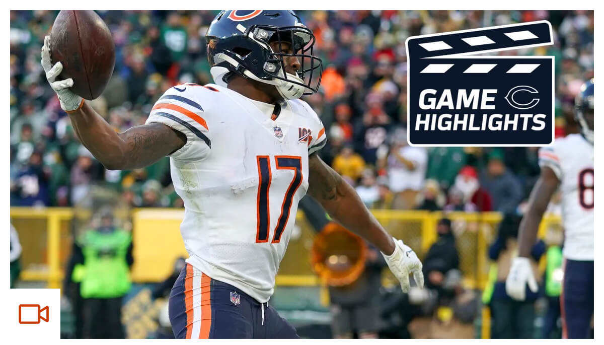 Highlights: Bears at Packers