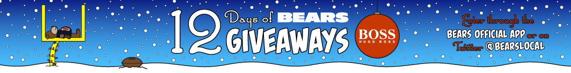 12 Days of Bears Giveaways