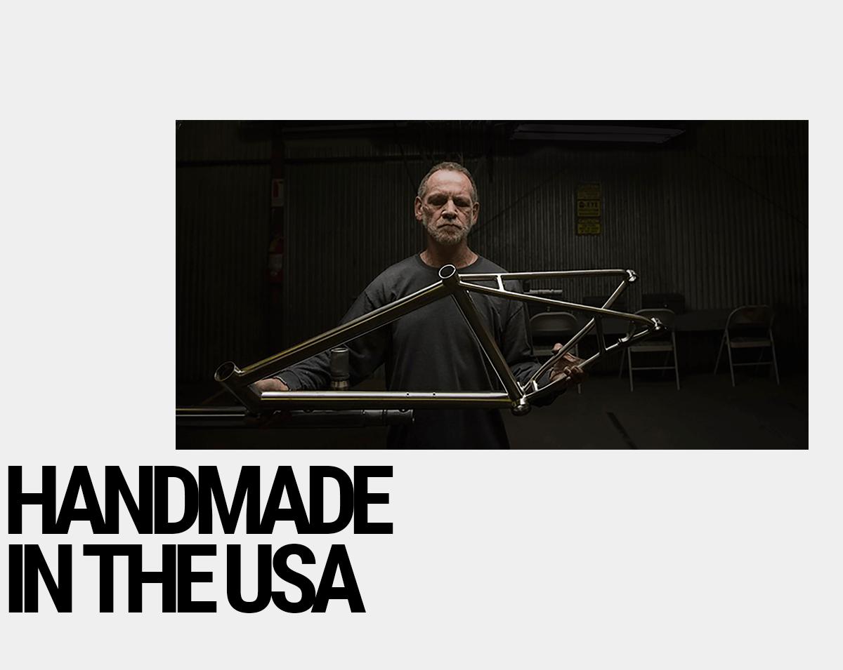 Litespeed Titanium: Handmade in the USA