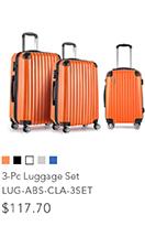 3-Pc Luggage Set
