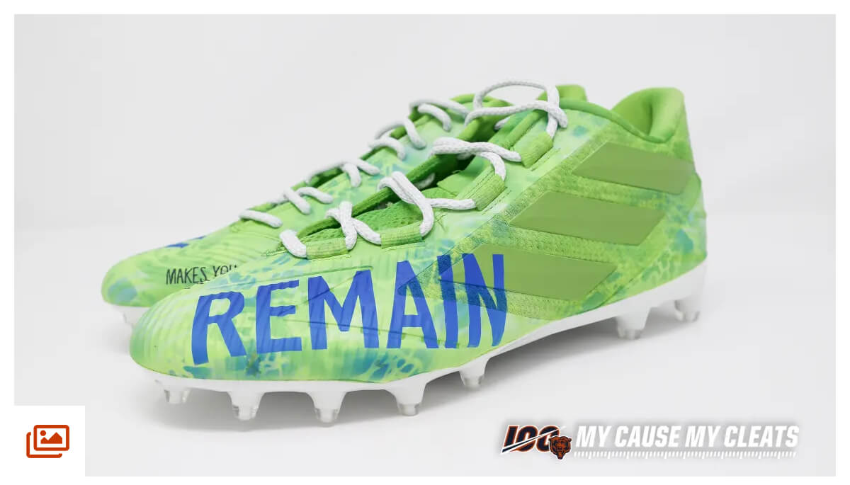 Up close � 2019 My Cause My Cleats