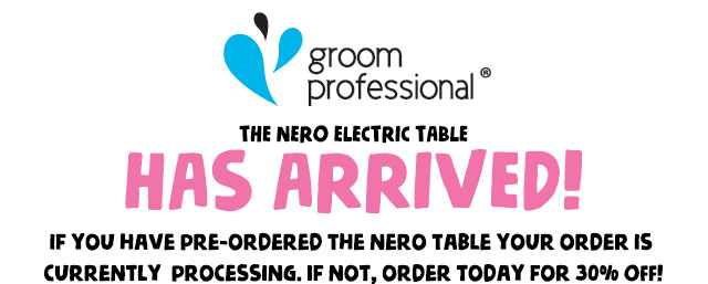 The Groom Professional Nero Electric Table Has Arrived