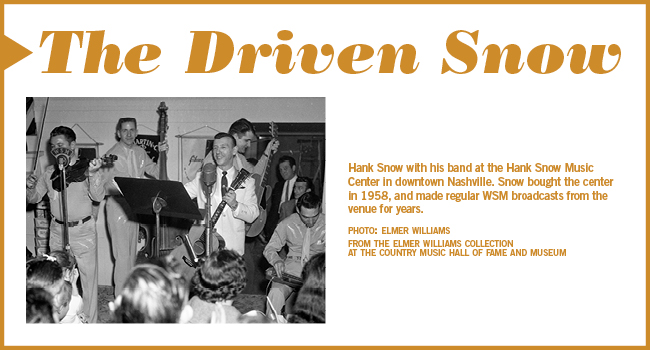 The Driven Snow