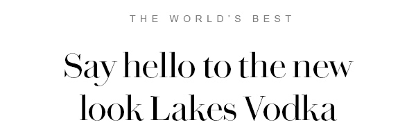 The Lakes Vodka