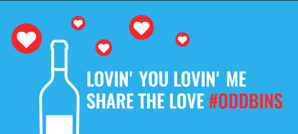 Share The Love with #Oddbins