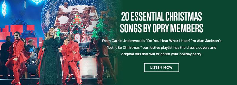 20 Essential Christmas Songs by Opry Members