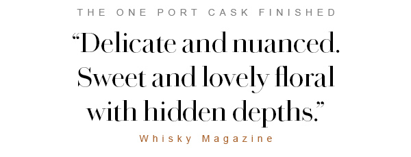 The One Port Cask Finished