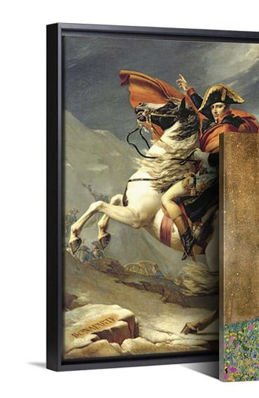 Napolean Crossing the Alps