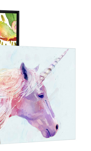 Mystic Unicorn by Victoria Borges