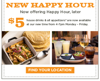 New, Later Happy Hour