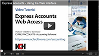 View the Express Accounts Tutorial Series
