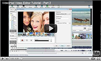 View the VideoPad Tutorial Series