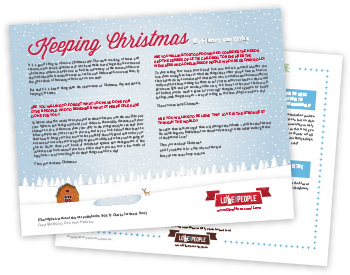 Keeping Christmas Printable