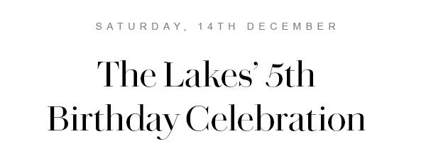 The Lakes 5th Birthday Celebration