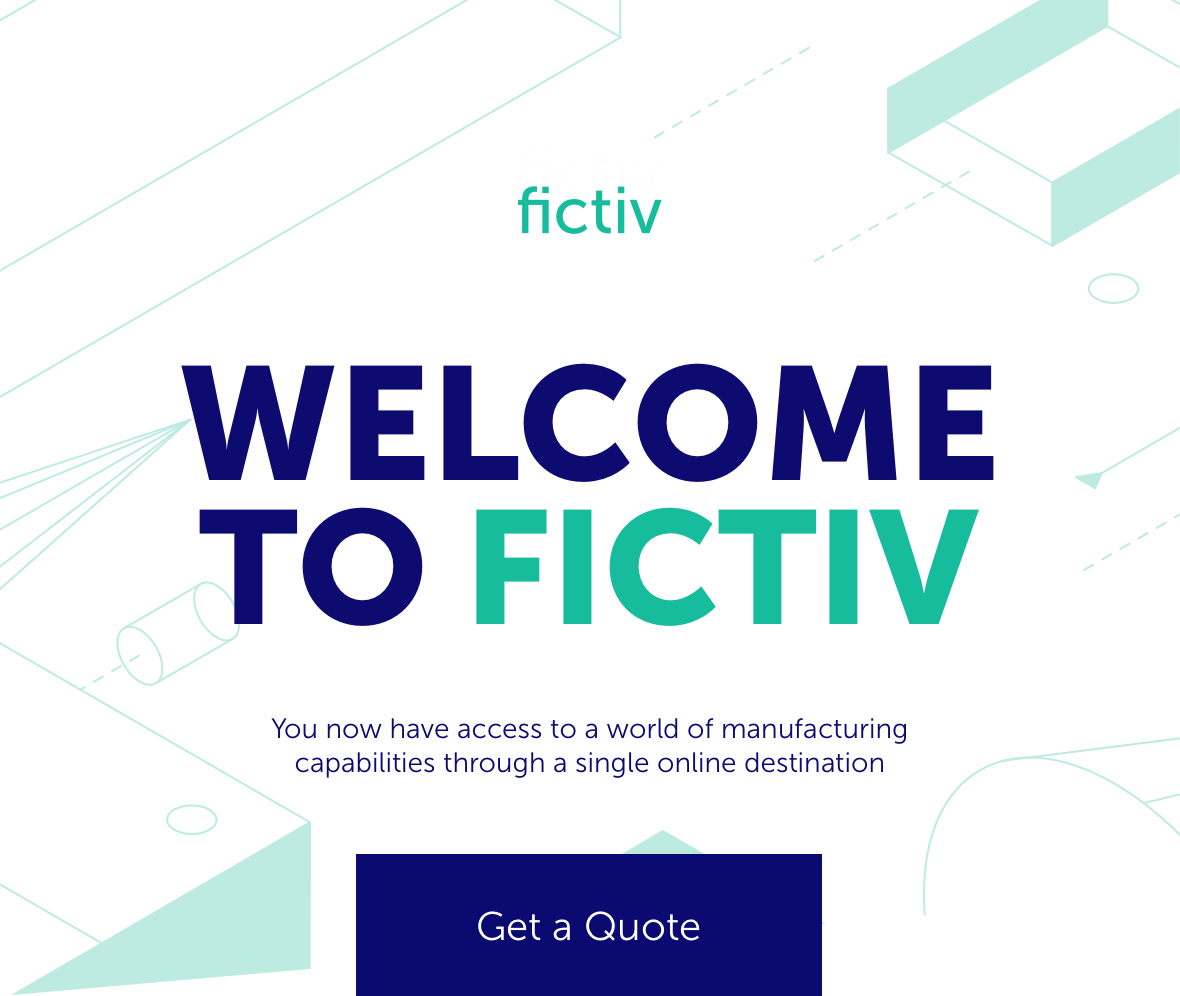 Welcome to Fictiv! You now have access to a world of manufacturing capabilities through a single online destination.