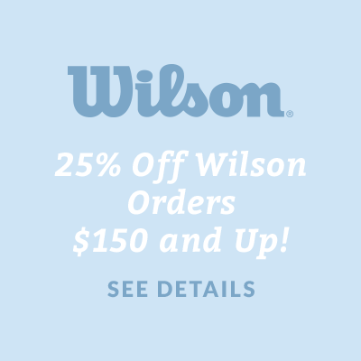 25% Off Wilson Orders $150 and Up