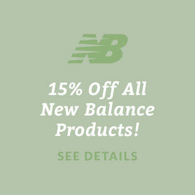 15% Off All New Balance Products