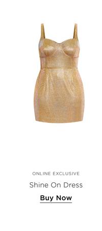 Shine On Dress