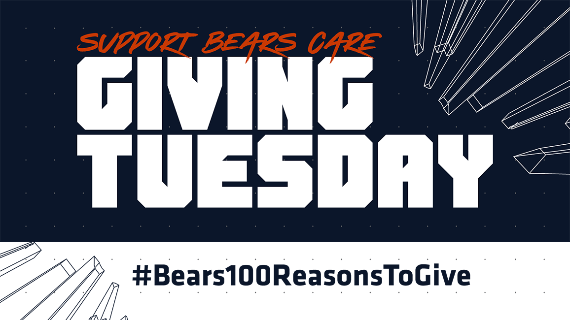 Bears Care Giving Tuesday