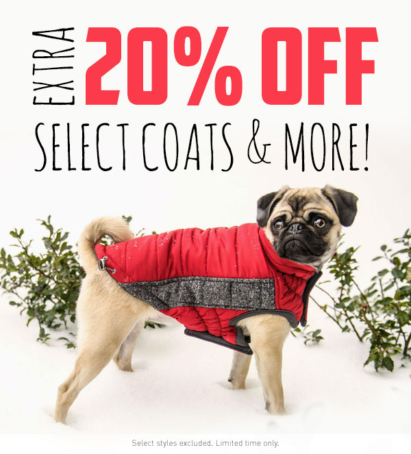 Extra 20% Off Select Coats & More!