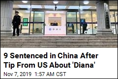 9 Sentenced in China After Tip From US About 'Diana'