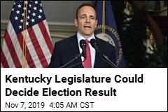 Kentucky Legislature Could Decide Election Result