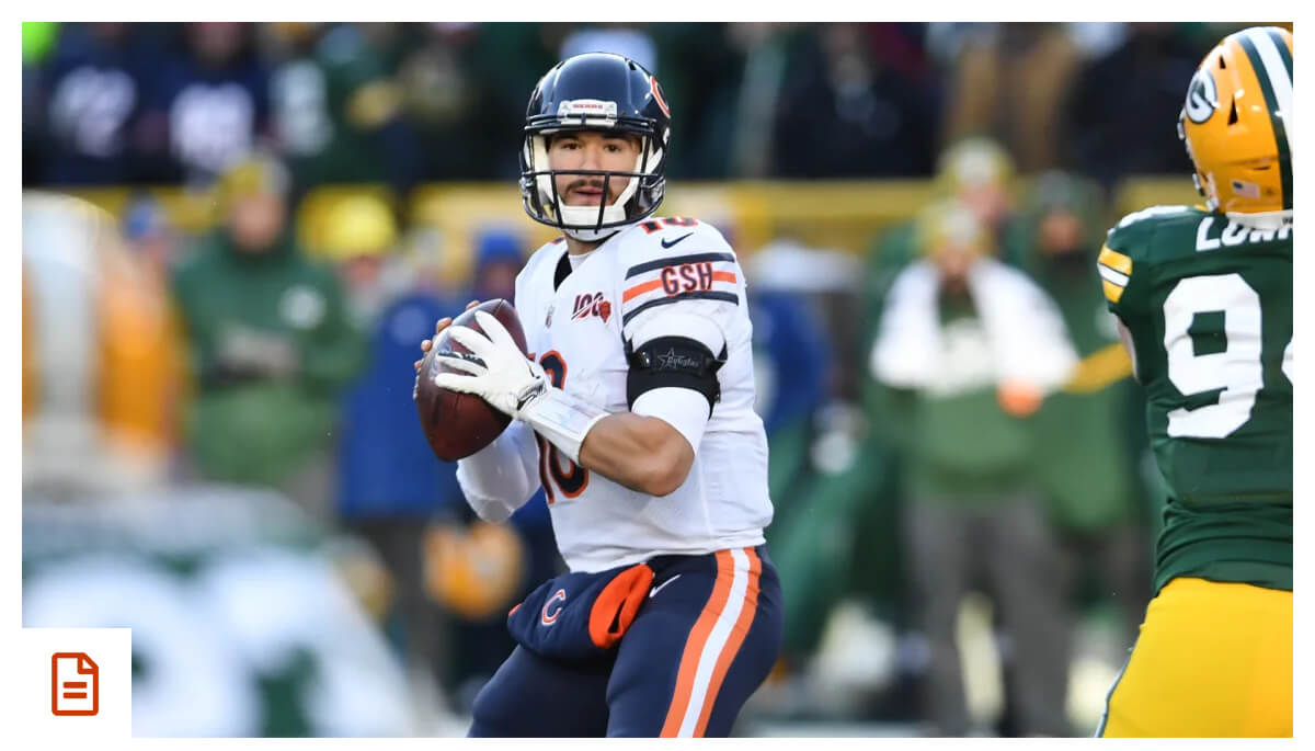 Nagy proud of Trubisky�s growth, resiliency