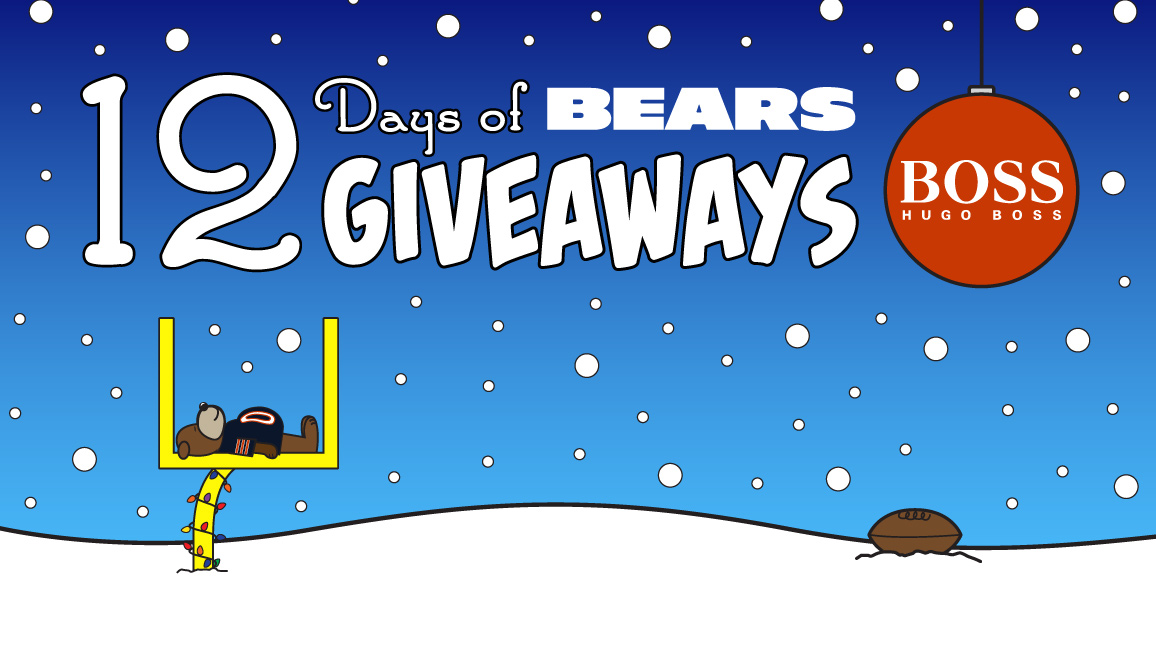12 Days of Bears giveaways brought to you by HUGO BOSS