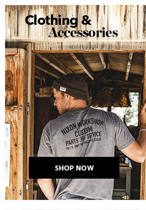 Shop Nixon Clothing and Accessories