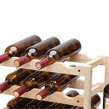 simple classic cute Wooden Wine Rack (203199436)