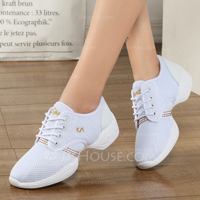 Women's Fabric Sneakers Modern Jazz Sneakers Dance Shoes (05...