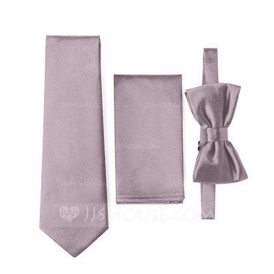 Modern Tie Bow Tie Pocket Square satin (200209549)...
