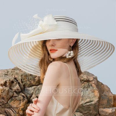 Ladies' Classic/Elegant/Simple/Vintage/Artistic Polyester Wi...
